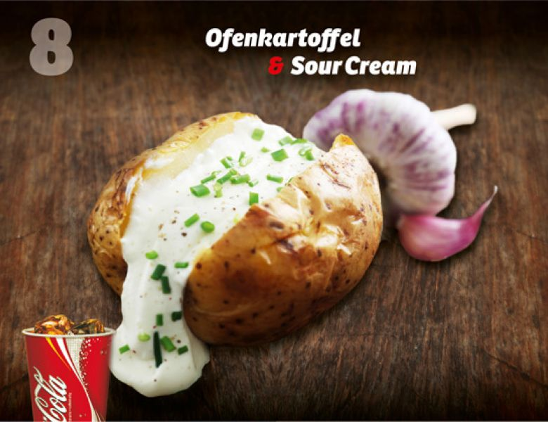 Ofenkartoffel & Sour Cream